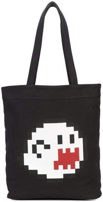 Mostly Heard Rarely Seen 8-Bit Haunting You tote bag