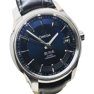 Omega De Ville Blue Steel Watches