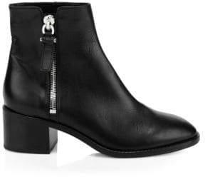 Aquatalia Josephine Leather Ankle Boots