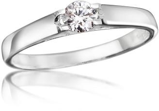 Forzieri 0.24 ctw Diamond Solitaire Ring