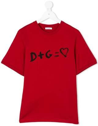 Dolce & Gabbana D+G print T-shirt