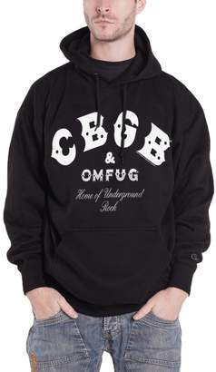 CBGB & OMFUG and OMFUG Hoodie Home of Underground Rock Official Mens New Pullover