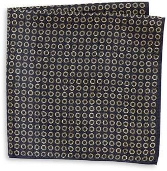 Tommy Hilfiger Neat Print Silk Pocket Square