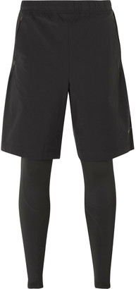 Nike Training Dri-FIT Integrated Shorts and Tights $190 thestylecure.com