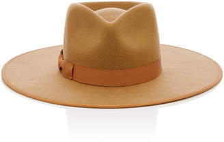 LACK OF COLOR Teak Rancher Wool Felt Fedora