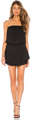 Krisa Smocked Strapless Mini Dress