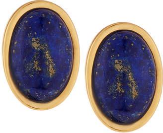 Stephanie Kantis Blue Lapis Nugget Stone Earrings