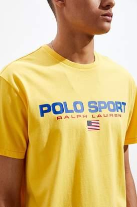 Polo Ralph Lauren Yellow Sport Tee