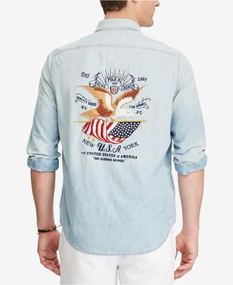 Polo Ralph Lauren Men's Standard Fit Cotton Workshirt