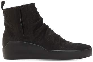Tormod High Top Slip-On Leather Sneakers