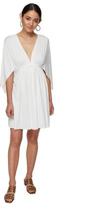 Rachel Pally MINI CAFTAN DRESS - WHITE