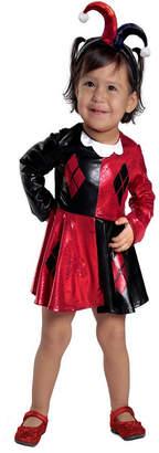 BuySeasons Harley Quinn Toddler Girls Dress & Diaper Cover Set