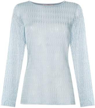 Cecilia Prado boat neck knitted top