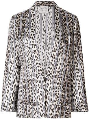Forte Forte animal print kimono jacket