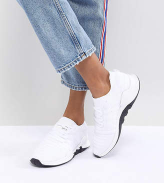 adidas EQT Racing Adv Primeknit Sneakers In White