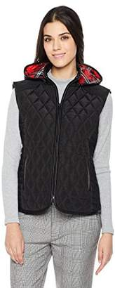 The Portland Plaid Co. Women's Short Lightweight Quilted Vest