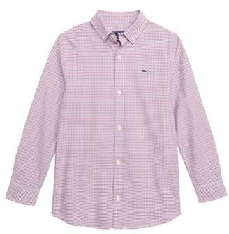 Vineyard Vines Bell Haven Plaid Oxford Shirt