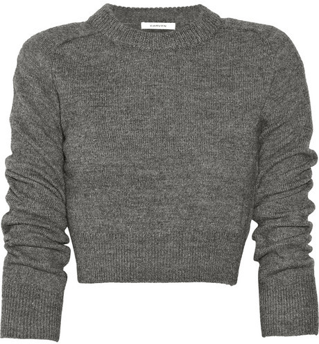 Carven Elbow patch wool sweater