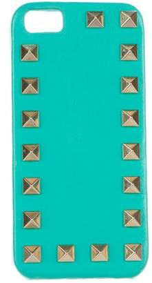 Valentino Leather Rockstud Phone Case