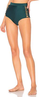 Zimmermann Melody High Waisted Bikini Bottom