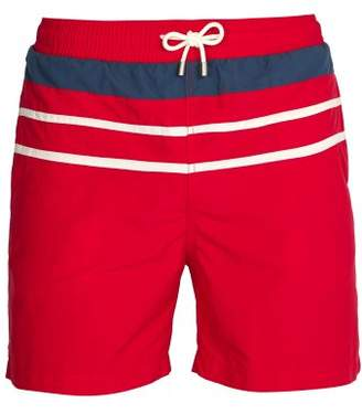 Solid & Striped The Classic Swim Shorts - Mens - Red Multi