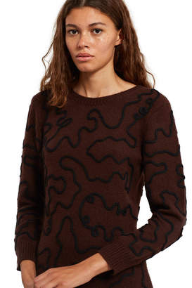 Opening Ceremony Re Editions Squiggle Sweater Dress