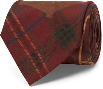 Ralph Lauren Umbrella Tartan Narrow Tie