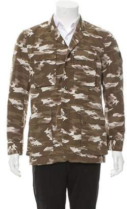Victorinox Lightweight Zip-Up Camo Jacket