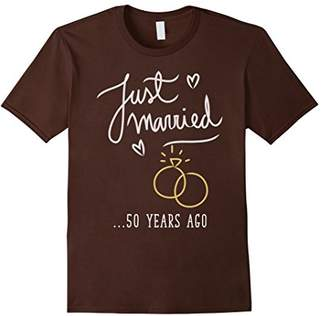 Just Married 50 Years Ago Marriage T Shirt