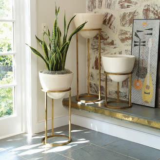 Lulu & Georgia Eva Egg Planter, Gold
