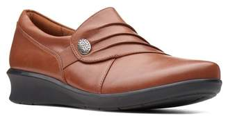 Clarks Hope Roxanne Leather Slip-On Loafter - Multiple Widths Available