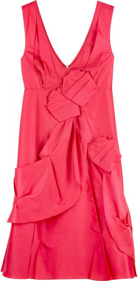 Mulberry Rosette sleeveless dress