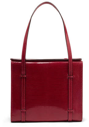 Hunting Season - Clo Box Lizard Tote - Red