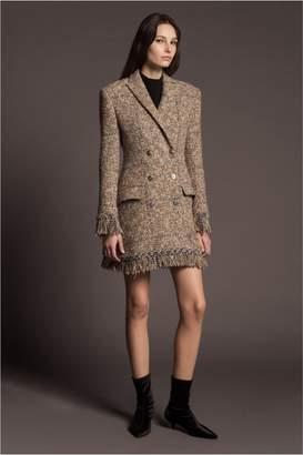 Sonia Rykiel Embroidered Tweed Coat