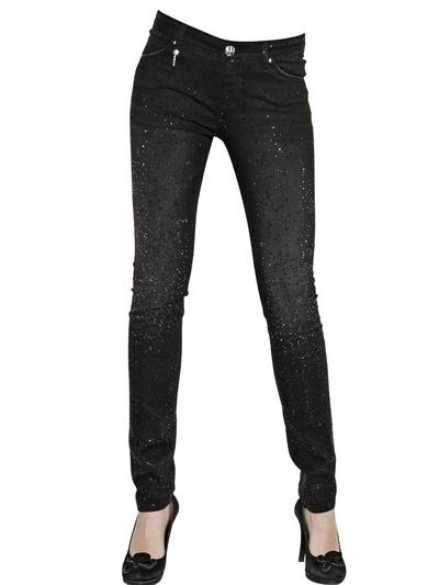 Swarovski Lerock - Push Up Stretch Skinny Jeans