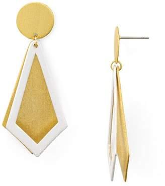 Stephanie Kantis Smooth Ego Drop Earrings