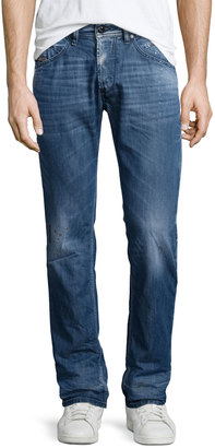 Diesel Belther Faded Tapered Jeans, Denim L32 $250 thestylecure.com