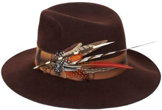 Philip Treacy Feather Trilby Hat