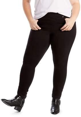 Levi's Plus Mid-Rise Pull On Skinny Jeans