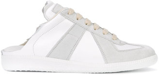 Maison Margiela backless paneled sneakers $495 thestylecure.com