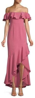 LIKELY Cabrera Ruffled Hi-Lo Dress