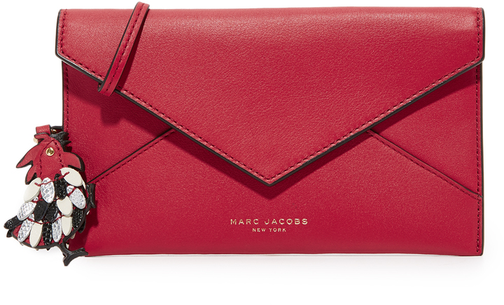 Marc JacobsMarc Jacobs Fire Rooster Envelope Pouch