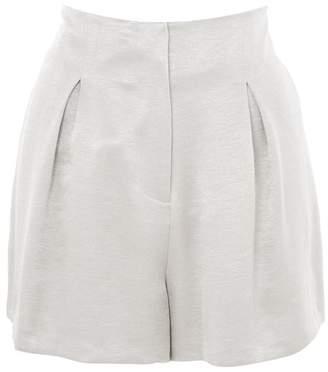 Topshop Metallic shorts