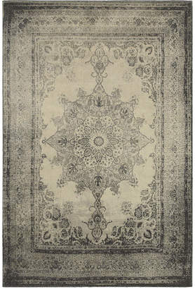 "Richmond Oriental Weavers Medallion Ivory/Grey 1'10"" x 3' Area Rug"