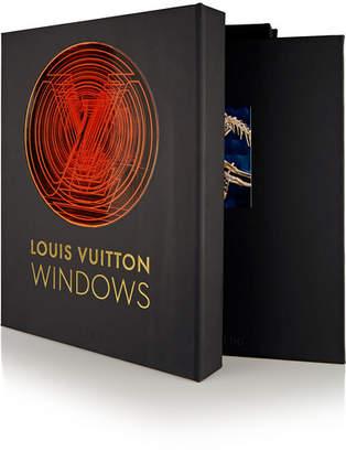 Assouline Louis Vuitton Windows By Vanessa Friedman Hardcover Book - Black