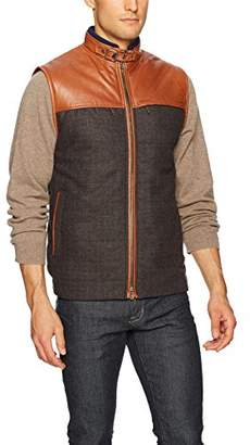Robert Graham Men's Adirondacks Woven Puffer Vest