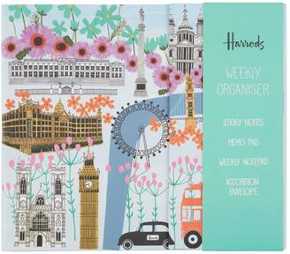 Harrods London Collage Weekly Organiser