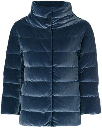 Herno concealed fastening padded jacket