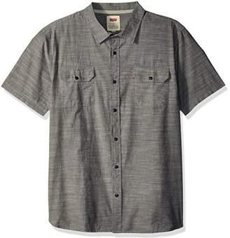 Levi's Men's Huxley Short Sleeve Woven Shirt