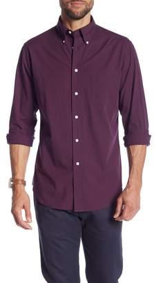 Brooks Brothers Mini Gingham Print Regent Fit Shirt